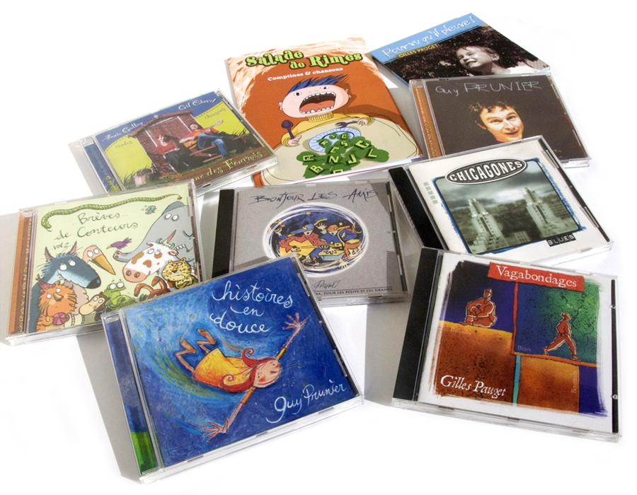 • Packaging • Jaquettes de cd